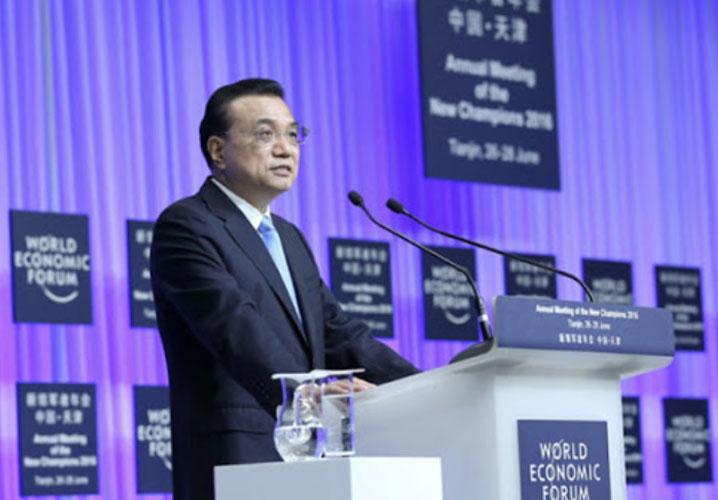 China-Premier-Li-Keqiang-speech-at-World-Economic-Forum-2018