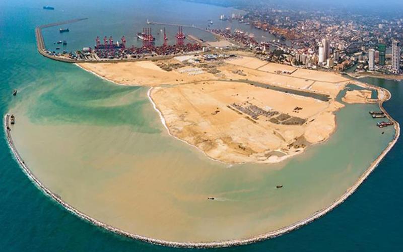 Colombo Port City, Sri Lanka