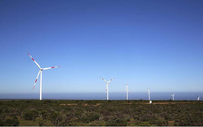 Punta Sierra wind farm, Chile